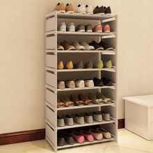 New Fashion Pattern Shoe Cabinet Shoes Racks Storage Large Capacity Home Furniture DIY Simple 7 Layers #236471