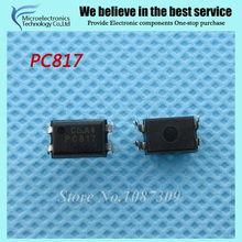 100pcs free shipping PC817 EL817 817 DIP-4 photoelectric coupler 100% new original quality assurance(China)