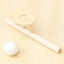New Fun Wooden Floating Ball Game Blow Educational Toys For Children Wood Pipe Balancing Ball Game Funny Sports Baby Toys