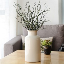 3pcs Manzanita Dry Artificial Fake Foliage Plant Tree Branch Wedding Home Church Office Furniture