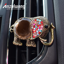 Anzulwang color elephant car air conditioning perfume air freshener artificial air crystal car export perfume(China)