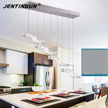 Fashion New 36W modern gold crystal light dining-room-crystal Pendant Lights, New design factory wholesale