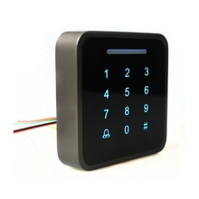 Standalone 3000 users full metal fingerprint keypad password code reader door lock access control with power supply 12v