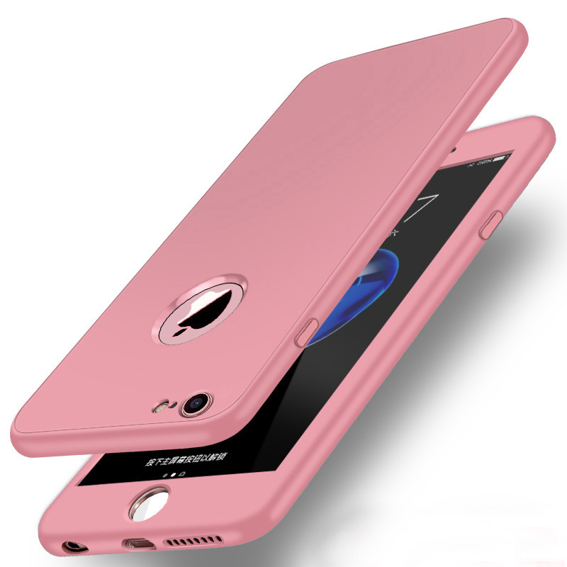 Luxury Soft TPU 360 Full Cover Cases For iPhone 9 X 8 7 6 6S Case 5 5S SE Cover Cases For iPhone 6 7 8 9 Plus case 6.1 6.5 inch (9)