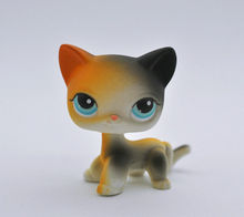 Pet Shop Cat SHORT HAIR Animal child girl boy figure loose cute LP40(China)