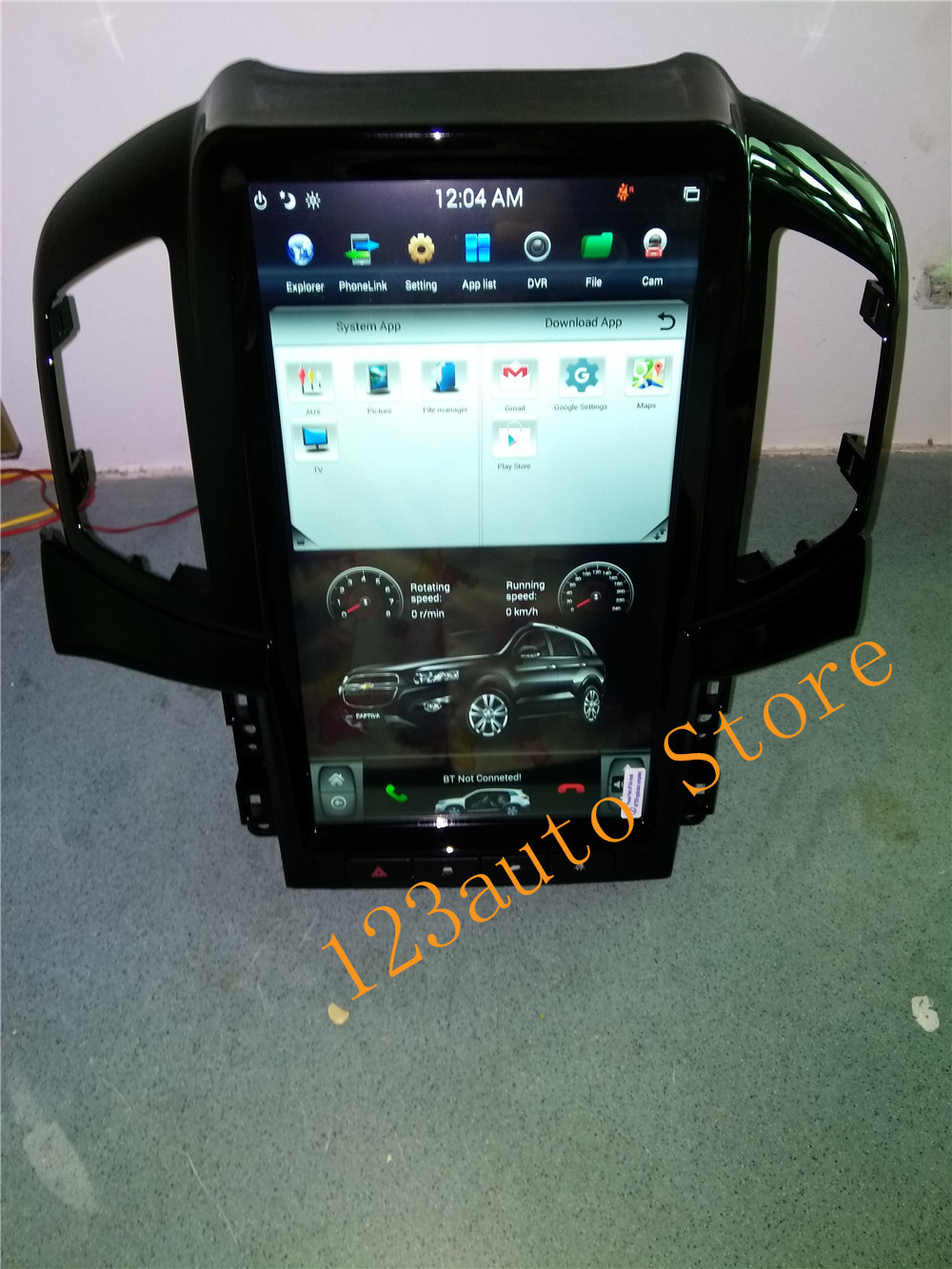 Autocardvdgps 13.6 vertical screen screen style android 7.1 auto car dvd gps player for  captiva 2013 2014 2015 2016 2017