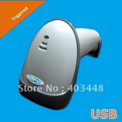 (Grey Color)USB Interface Laser Barcode Reader(OCBS-L008)<br>