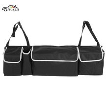 Black Large Collapsible Car Trunk Organizer Truck Cargo Portable Folding Storage Bag Case Space Saving Travel Storage Organizer