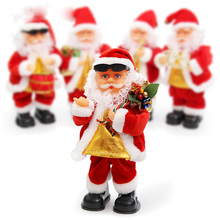 New Arrival Father Christmas Santa Claus Dancing Singing Song Christmas Figurines Christmas Decoration