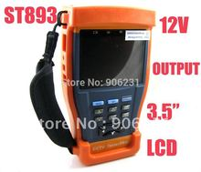 "Free shipping!ST893 Newest 3.5"" LCD Monitor CCTV Camera Test monitor Video Tester(China)"