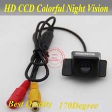 For Toyota camry 2008 Car rear view Camera back up reverse for GPS DVBT radio free shipping NTSC 170 degree(China)