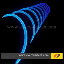 11mm High Bright Waterproof Solid Core Side Glow Fiber Optic LED Light Cable for Outdoor Application(China)