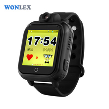 Wonlex 720P 3G WCDMA Remote Camera GPS LBS WIFI Location Kids GPS Watch GW1000 1.54 Touch Screen Smart SOS Tracker(China)