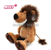 45cm lion doll fierce jungle brothers plush toys birthday gift 1pcs nici new hot christmas present(China)