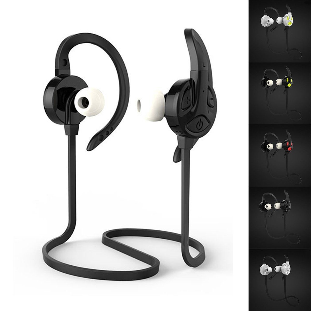 New Wireless Bluetooth 4.1 Headset SPORT Stereo Handsfree Music Headphones Universal For iPhone For Samsung Bluetooth Earphone<br><br>Aliexpress