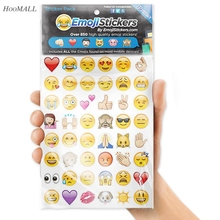 1Set (19Sheets) Mobile Phone Emoji Emoticons Paper Stickers 900+ tiny PCs Popular Diary Scrapbooking DIY Home Decor