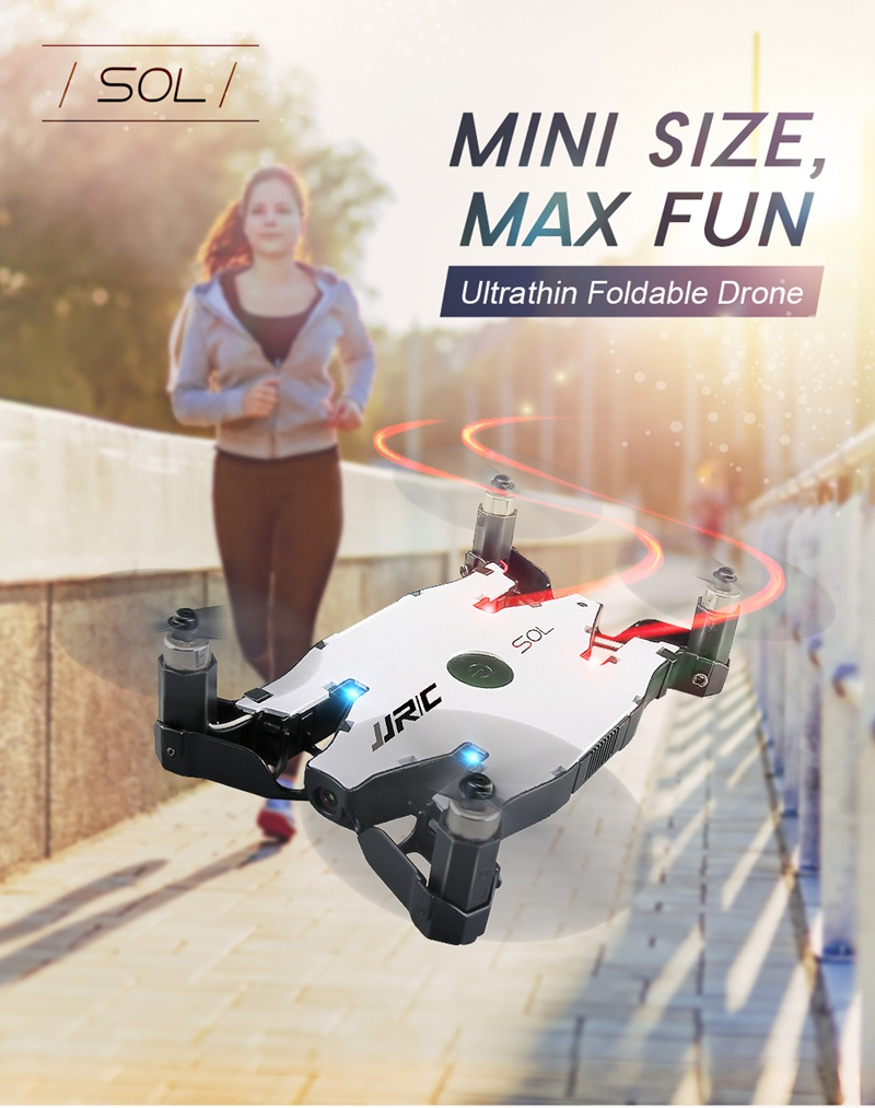 Free Mini Drone with Discounted H49 SOL Ultra-thin Wifi FPV Selfie Drone 7P Camera Auto Foldable Arm Altitude Hold RC Quadcopter 6