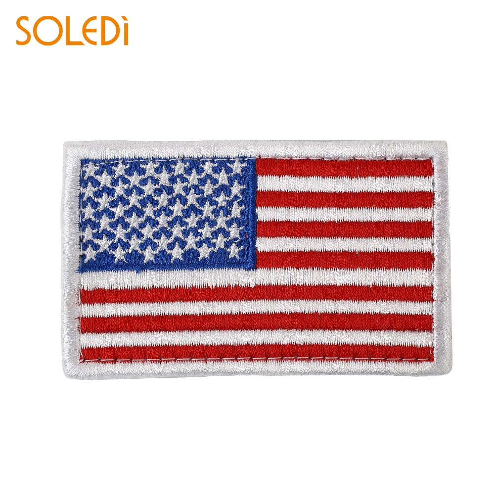 Dollar Patch Embroidered Badge Iron Sew On USA US United States of America Craft
