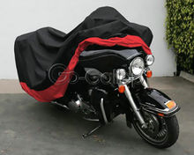 XXXL Waterproof Outdoor UV Protector Motorbike Rain Dust Bike Motorcycle Cover For Harley Davidson Street Glide Electra Glide(China)