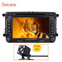 Seicane HD 7 inch 2 Din Universal Bluetooth DVD Player GPS Navigation Head Unit for 2009-2013 Skoda YETI SD Support Aux IPOD