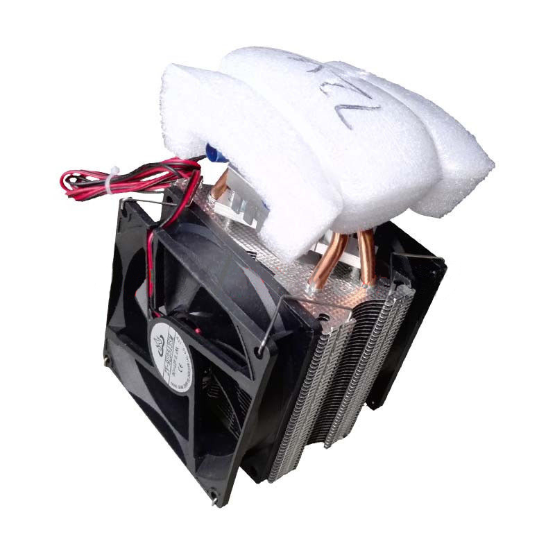 Thermoelectric Peltier Refrigeration DIY Water Cooling System Cooler Device 12V<br>