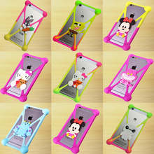 latest Phone Cover For Alcatel OneTouch Idol 3 4.7inch 6039 6039A 6039K 6039Y 3D Cartoon Character Image Soft Silicone Case