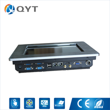 Fanless Industrial Panel Pc Inter N2807 1.6GHz 2GB DDR3 32G SSD Industrial Touch Computer With HDMI/4*RS232/2*USB/2*RJ45(China)