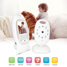 Wireless digital Baby Sleeping Monitor Security Camera Baby Monitor With Camera Video Monitor 2 Way Talk Night Vision IR LED(China)