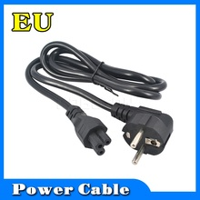 Wholesale 1.2M Power Cable EU Europe Standard EU Power Extension Cable for PC Laptop