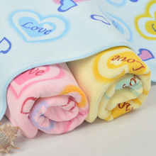 35*75cm Superfine Fiber Face Towel with Floral Print Patterns High Absorbent Towels Home Textiles(China)