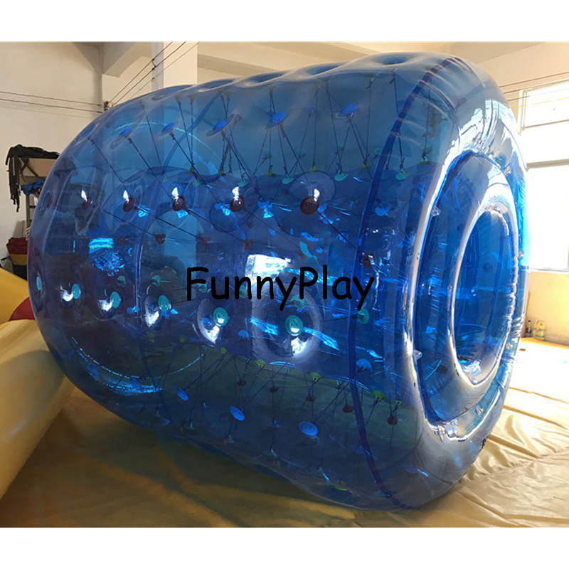 funny inflatable water roller5