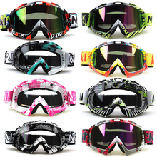 Motorcycle Motocross Goggles Anti-distortion DustProof Glasses Anti Wind Eyewear MX Goggles ATV Off Road Dirt Bike for Helmet(China)