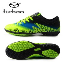 TIEBAO Brand Soccer Shoes TF Turf Soles Breathable Outdoor Sneakers For Men Football Training Boots Unisex Football Shoes(China)