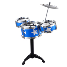 Baby Home Game Musical Mini Jazz Drum Toy For Children Musical Instrument Toy Percussion Drum Kid Christmas New Year Gift