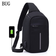 BUG New Arrival Crossbody Bags Men Anti-theft Chest Pack Summer Short Trip Messengers Bag WOMEN Water Repellent Shoulder Bag