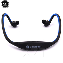 Newest Universal Sport Earphone Handsfree Wireless Bluetooth Headset Earphone Headphone Micro Music Player for all phones(China)