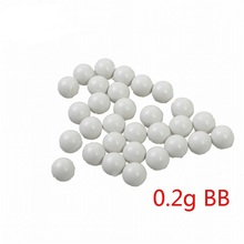 1000 Pcs/Bag Airsoft Paintball BB Ball Egg 0.2g CS War Game Combat Outdoor Hunting Tactical Airsoft Ammo Bullet Accessory