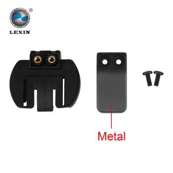 Livraison gratuite 1 pcs Clip en métal clamp Set accessoires pour pince LX-R6 1200 M moto Bluetooth casque Interphone Interphone