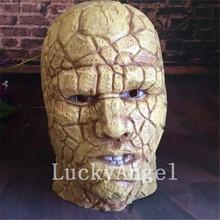 New Latex Stone Man Mask Halloween Cosplay Bloody Zombie Mask Melting Face Walking Dead Scary Movie Mask Mardi Gras Ball Masks