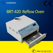 Discount 2500w Mini Reflow Oven BRTRO-420 300*300mm Hot air / Infrared BGA SMD SMT Rework Sation