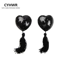 CYHWR  New Sexy Toys Sex Product Lingerie Women Sequin Bra Breast Nipple Tassel Pasties Stickers Cover the petals
