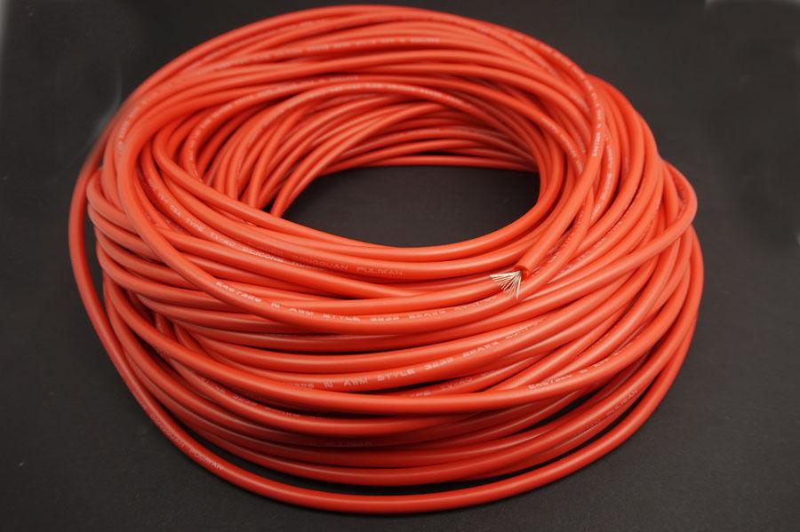 Cable de Silicona Rosa Alambre Flexible lata de cobre plateado UL3239 18//20//22//24//26AWG