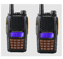 2pcs Baofeng UV-6R Walkie Talkie Two Way Radio Dual Band Vhf Uhf For CB Radio Station Professional Dual Frequency Wirelesss(China)