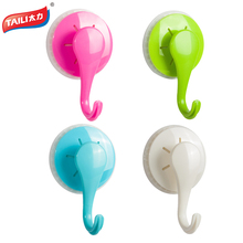 Plastic Hooks For Kitchen Towel Keys Handbag Hanger Hook For Holder  Sucker Wall Hangers Bearing Strong Suction Hook