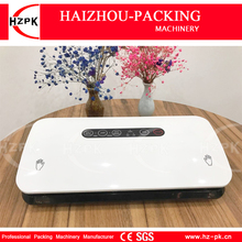 HZPK Home Vacuum Sealer Auto/Manual The Vacuum Machine Small For The Kitchen Equipment Vacuum Bags Roll For Food Saver HZ-300(China)