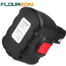 FLOUREON 12V 3000mAh Rechargeable Battery Pack Power Tool Battery Replacement Cordless for Bosch Drill GSR PSB Ni-MH
