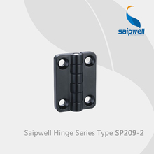 Saipwell SP209-2 zinc alloy soft closing cabinet door hinges for steel frame folding locking hinges 10 Pcs in a Pack(China)
