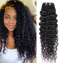 Peruvian Deep Wave 7A Peruvian Curly Hair 3pcs Unprocessed Peruvian Virgin Hair Curly Weave Human Hair Peruvian Hair Bundles