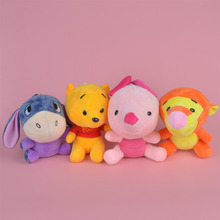 4 Pcs Winnie Thepohoh Plush Toy, Baby Gift Kids Doll with Free Shipping(China)