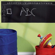 60 x 200cm  Large Drawing Blackboard Removable Wall Sticker Chalkboard Decal For Kids Dedroom Have Fan